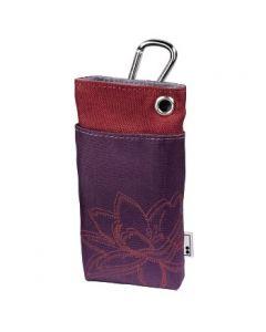 AHA torbica za mobilni tel. PLANT, tamno ljubicast