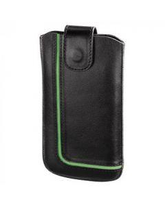 Futrola za mob. NEON BLACK (Lenovo S820), kožna    crno/zelena