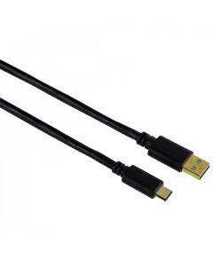 USB kabl USB-A muski na USB-C muski, 3.0, 0,75m,   pozlata