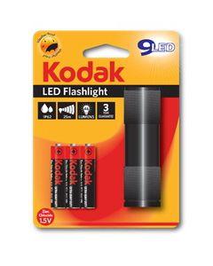 KODAK LED baterijska lampa + 3xAAA alk.bat. crna