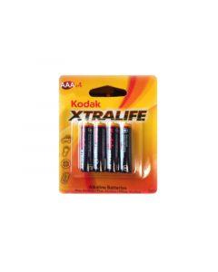 KODAK Alkalne baterije EXTRALIFE AAA/4kom