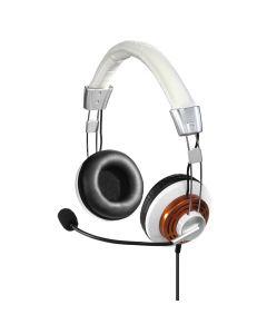 PC slusalice sa mikrofonom HS-320 bele