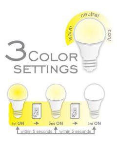 COMMEL LED sijalica E27 11W (75W) 3 boje bele