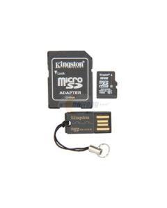 MobilityKit MicroSD32GB Class10+SDadapter+USBcitac Kingston