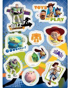1/24 DISNEY TOY STORY stiker - 3D, 21x28 cm
