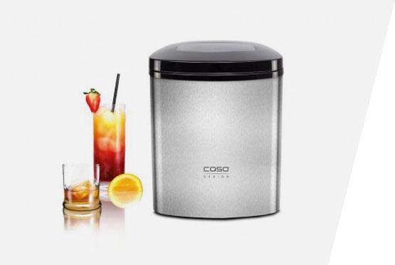 CASO ledomat IceMaster Ecostyle srebrni