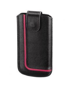 Futrola za mob. NEON BLACK (Lenovo S820), kožna    crno/pink