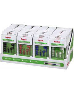 Hama 135617 Stereo slusalice bubice (displej kutija sa 28 kom)