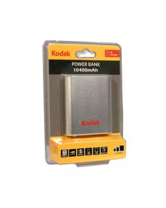 KODAK Power Bank 10400 mAh, srebrni