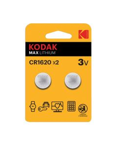Kodak MAX lithium baterija CR1620, 2 kom