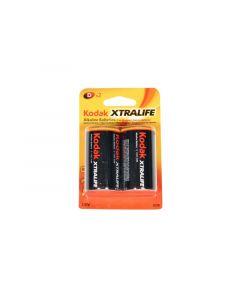 KODAK Alkalne baterije EXTRALIFE D 2kom