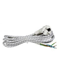 Prikljucni kabl za peglu 6A 250V 1300W 3m          H03RT-H 3G0,75
