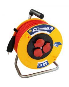 Kabl sa motalicom PVC bubnj 280mm monofazna 40m    H05RR-F 3G2,5
