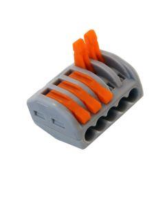 Kablovske petostruke spojnice 0,08-2,5(4)mm2 10kom 250V/4kV