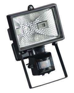 Halogeni reflektor detekt pokreta 230V 400W crni