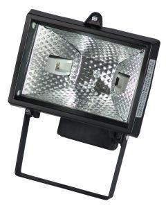 Halogeni reflektor sa sijalicom 230V 120W crni