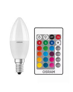 OSRAM Sijalica RGB daljinski E14 5.5W 2700k dim    kartonsko pakovanje