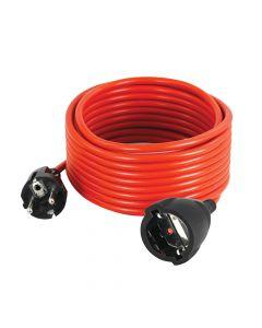 Produzni kabl 1 na 1 suko 10A 250V 2200W 25m oranz H05VV-F 3G1