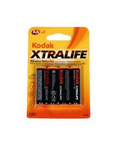 KODAK Alkalne baterije EXTRALIFE AA/4kom