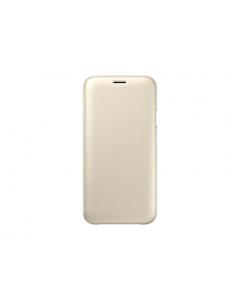 Samsung maska sa preklopom J7 2017 zlatna