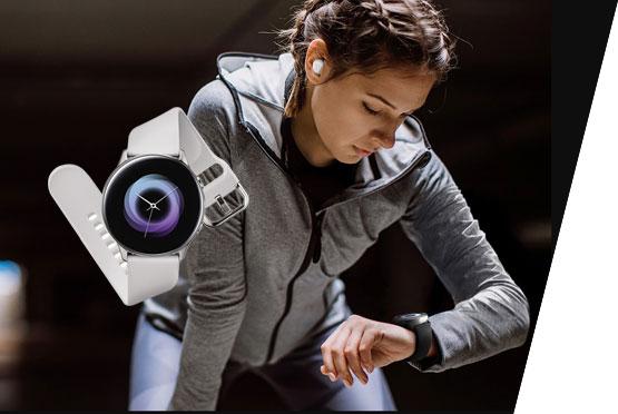 Samsung Galaxy Active Watch srebrni