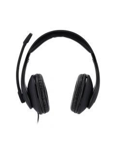Hama 139924 PC slusalice sa mikrofonom HS-USB300, stereo, crne