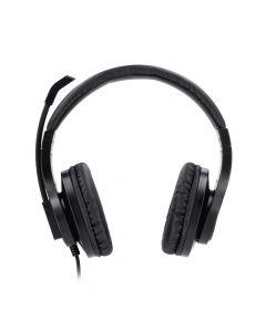 Hama 139925 PC slusalice sa mikrofonom HS-P300, stereo, crne