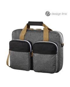 "Laptop torba FLORENCE II 15,6"" crno/siva"
