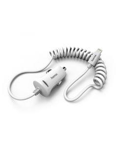 Auto punjac za iPhone, MFI, beli 2,4A, premium