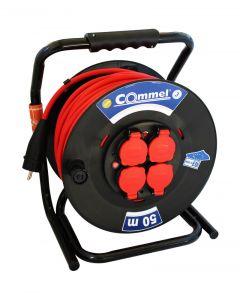 Kabl sa motalicom PVC bubanj 320mm monofazna 50m   H05RR-F 3G2,5