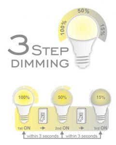 COMMEL LED sijalica E27 12W (75W) dimabilna 3step