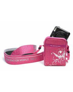 GOLLA torbica za kameru HILTON, pink, XS