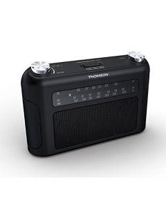 THOMSON Portabl radio aparat, FM/MW, analogni,crni