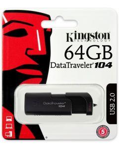 """Fleš pen 64GB, """"Data Traveler 104"""", 2.0, Kingston"""