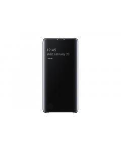 EF-ZG973-CBE Samsung Clear View stojeca futrola, S10, crna