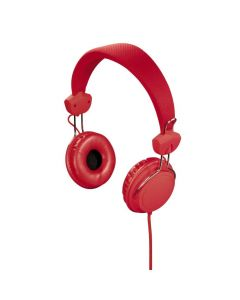 Hama 135609 Stereo slušalice sa mikrofonom, JOY, na uho,crvene