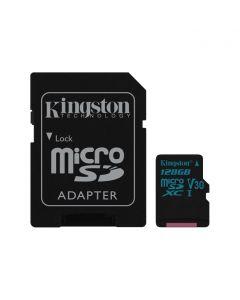 Kingston MicroSDXC Canvas Go 128GB class UHS-I U3