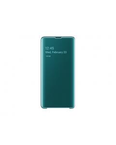 EF-ZG975-CGE Samsung Clear View stojeca futrola, S10+, zelena