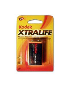 KODAK Alkalne baterije EXTRALIFE 9V