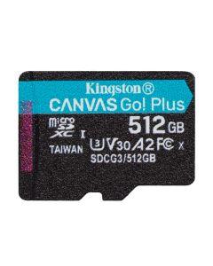 Kingston SDCG3/512GBSP Canvas Go! Plus microSD 512GB memorijska kartica bez adaptera