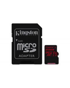 SDCR256GB Kingston MicroSDXC Canvas React 256GB cla UHS-I U3