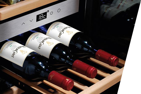 CASO rashladna vitrina za vina Wine Master 24