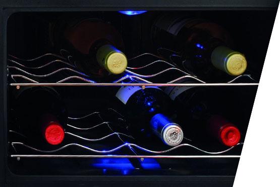 CASO Rashladna vitrina za vina WineCase 8