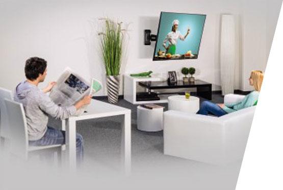 "HAMA Fullmotion LCD nosac za televizore 32-65"""