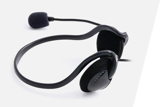 Hama PC slusalice NHS-P100 sa mikrofonom