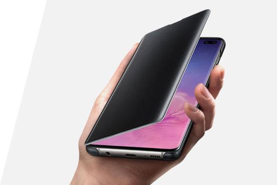 Samsung Clear View futrola za S10 lite crna