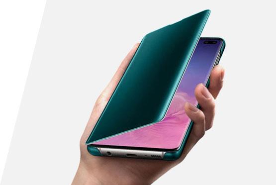 Samsung Clear View futrola za S10+ zelena