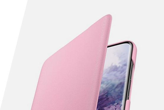 Samsung roze LED maska za S20+